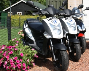 Kymco Agility lesscooters